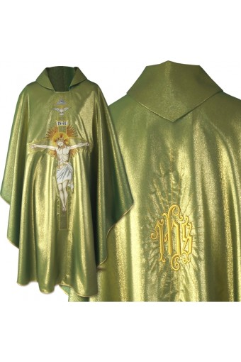 Chasuble 259 B Green