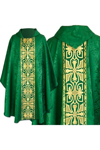 Chasuble 88d GREEN