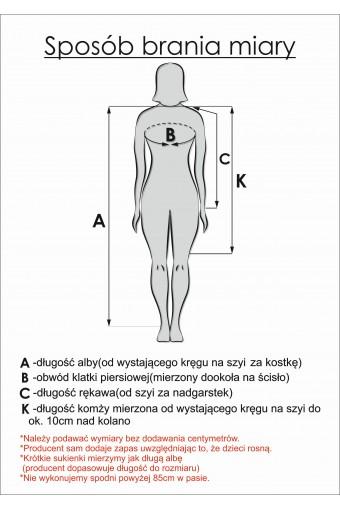 Alba komunijna z torebką (A-II/Z dz)
