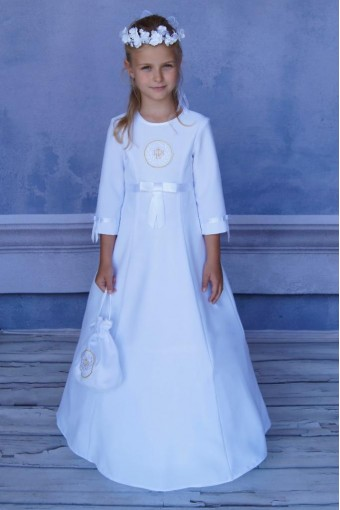 Sukienka komunijna z hostią SA-37
