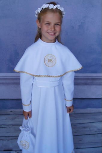Communion Dress with a...