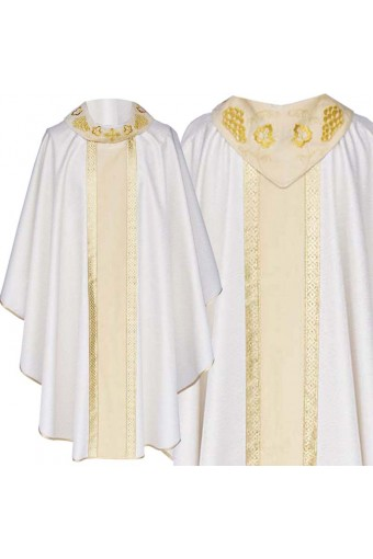 Chasuble  50B (golden belt)