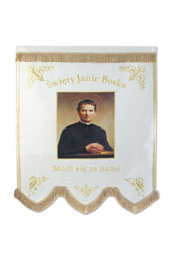"Church Banner ""St. John Bosko"""