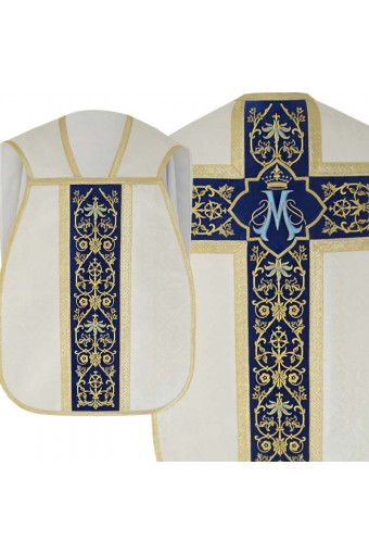 Chasuble 144 golden - ecru