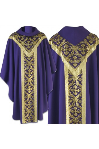 Chasuble 143 Cowl neck