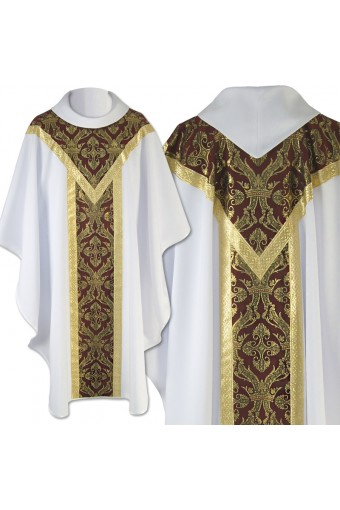 Chasuble 143 Red'n'white...