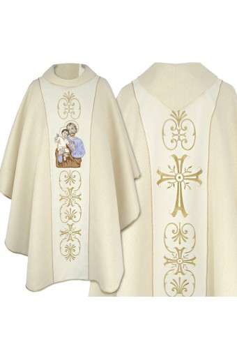 Chasuble 25 new embroidery
