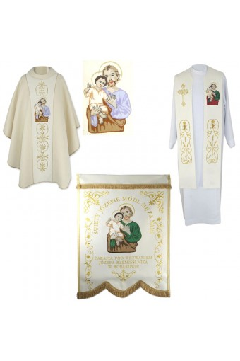 St. Joseph Mass Set  (4pcs.)